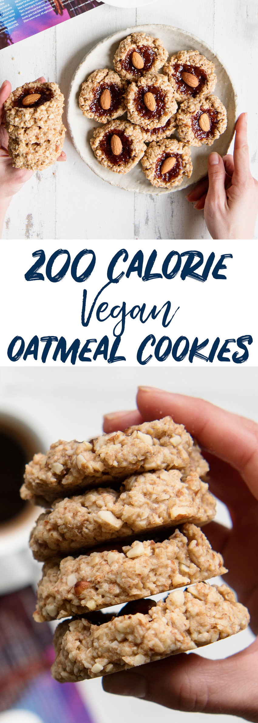 Vegan Cookie Recipes  Perfectly Chewy Vegan Oatmeal Cookies