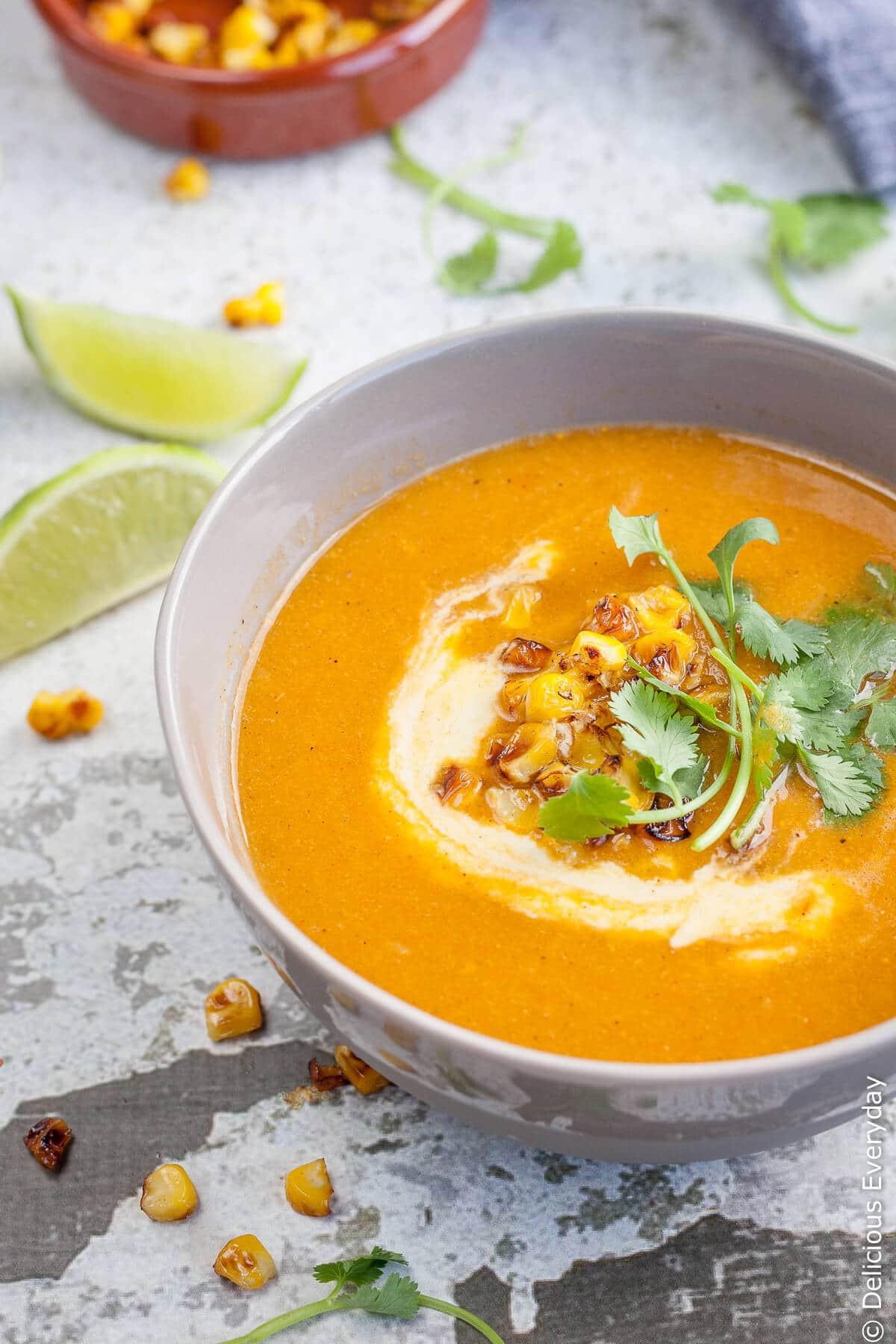 Vegan Corn Chowder  14 Vegan Recipes to Turn Fresh Corn into Amazing Summer