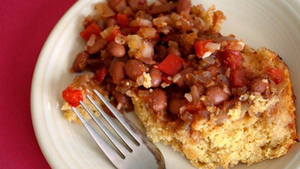Vegan Cornbread Casserole  Vegan Dinner Recipe Cajun Cornbread Casserole