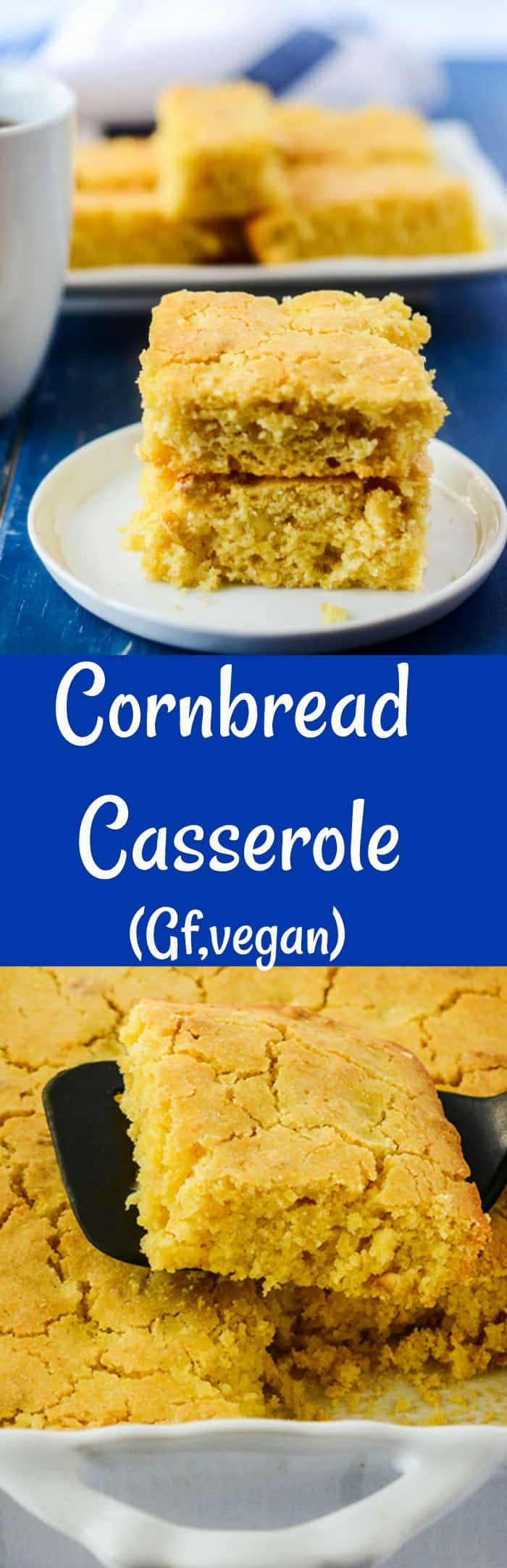 Vegan Cornbread Casserole  Cornbread Casserole Vegan Gluten Free