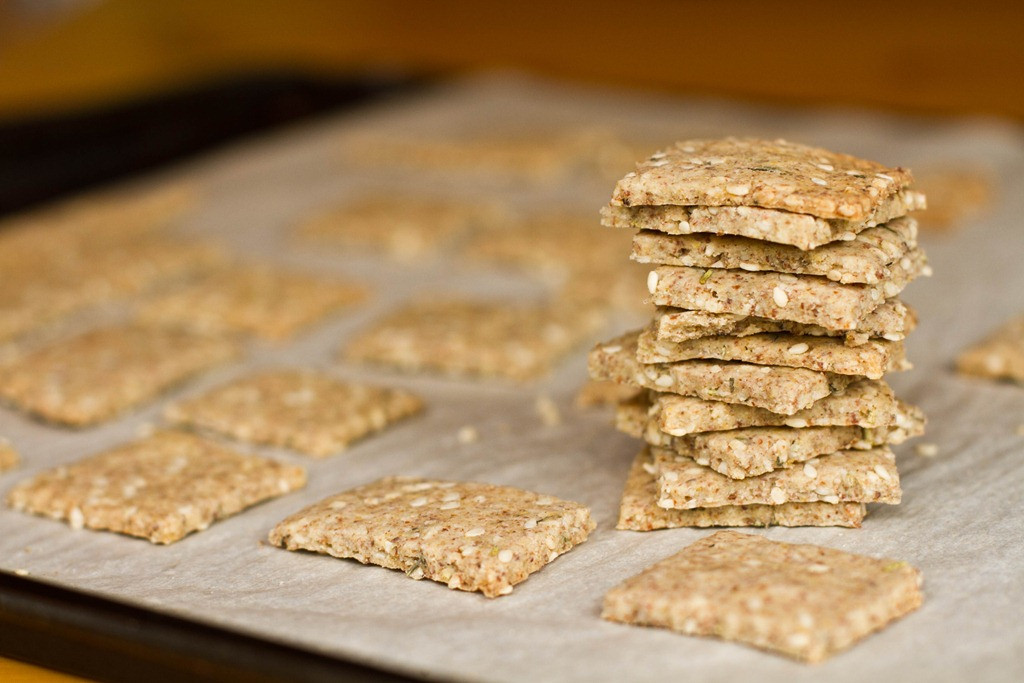 Vegan Cracker Recipes  gluten free vegan cracker recipe