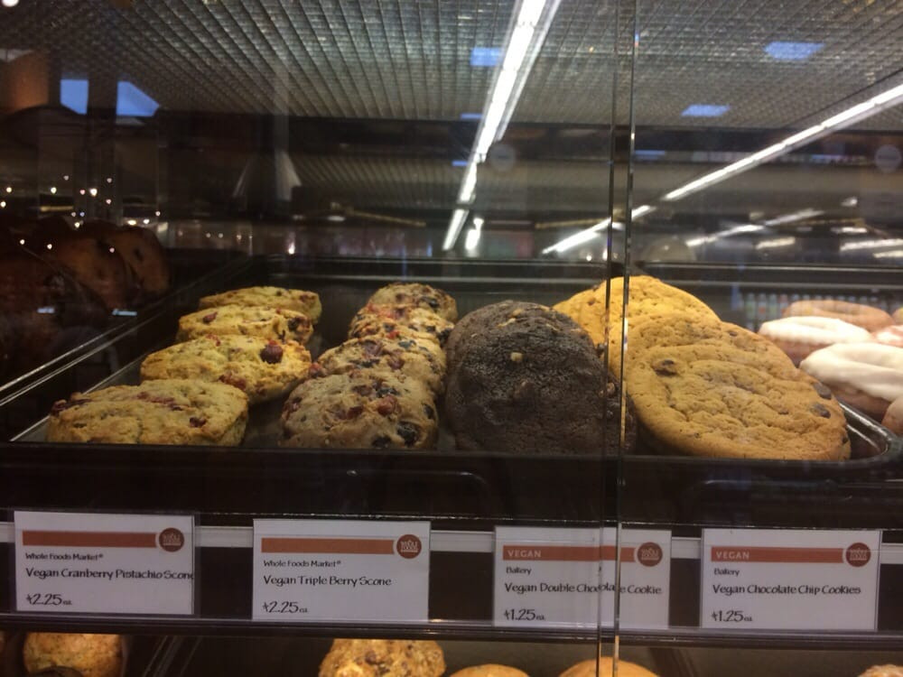 Vegan Desserts At Whole Foods  Vegan scones and cookies Yelp