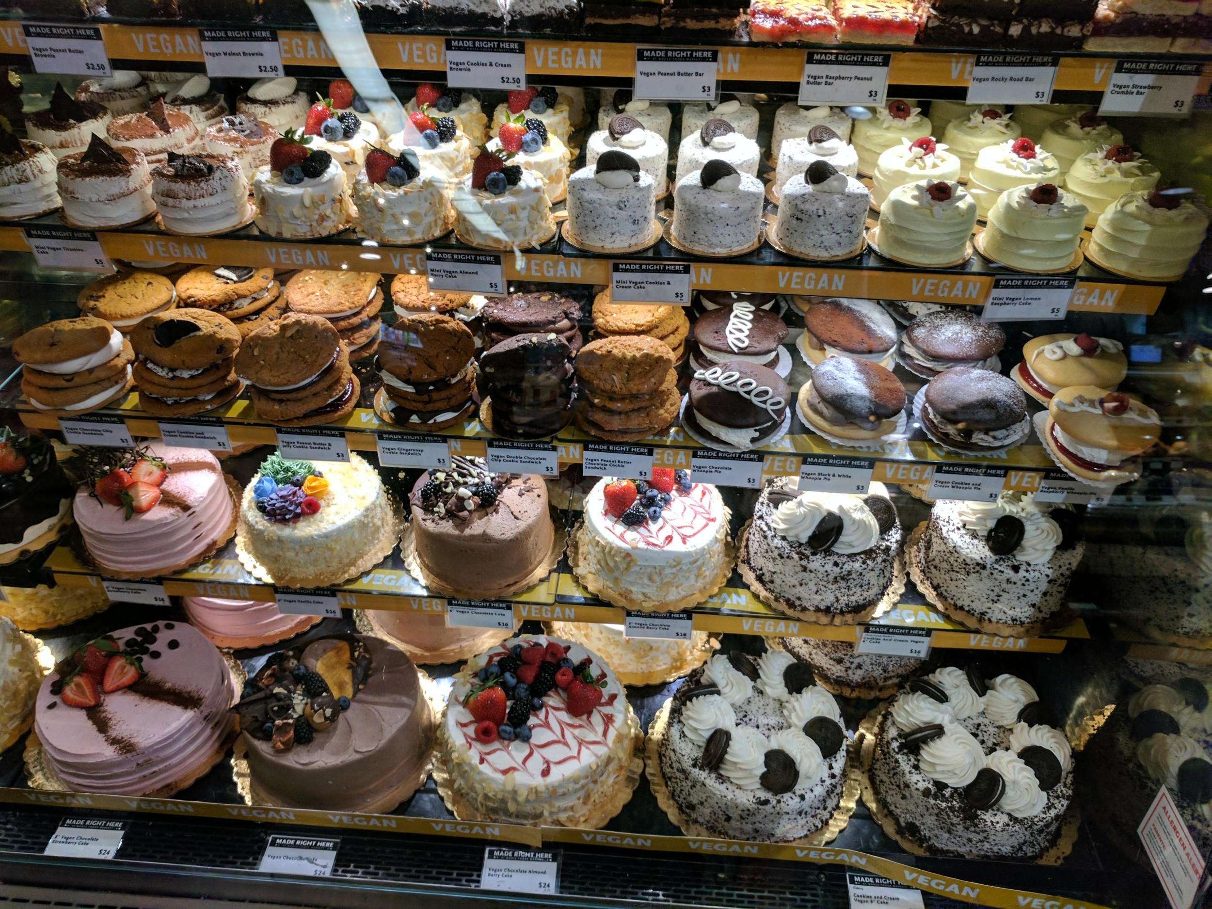 Vegan Desserts At Whole Foods  Vegan Adventures in California