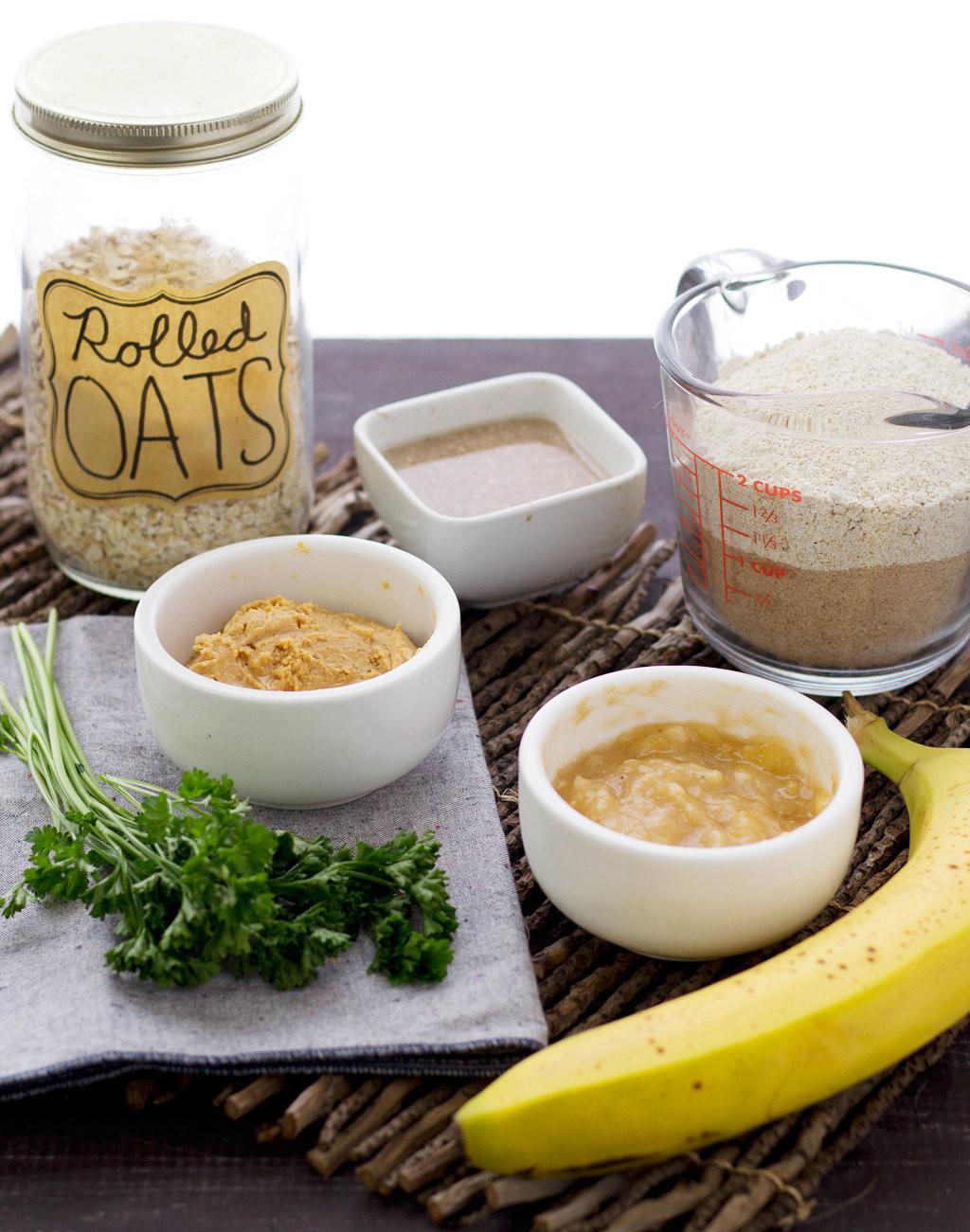 Vegan Dog Treat Recipes  ingre nts for homemade vegan dog treat recipe