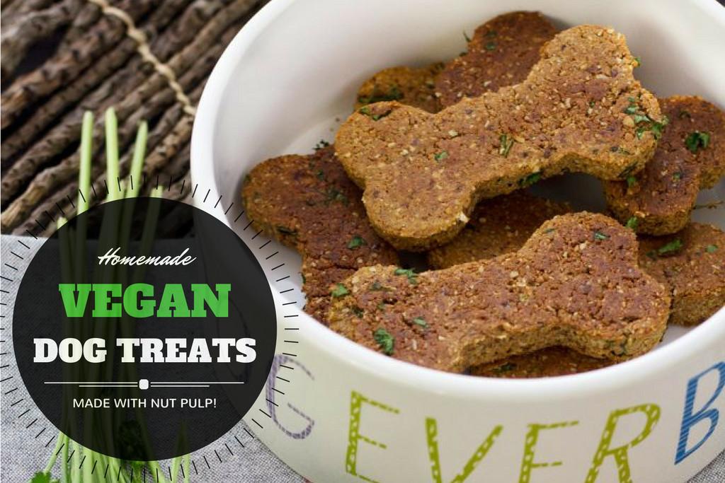 Vegan Dog Treat Recipes  Homemade Vegan Dog Treat Recipe with Nut Pulp