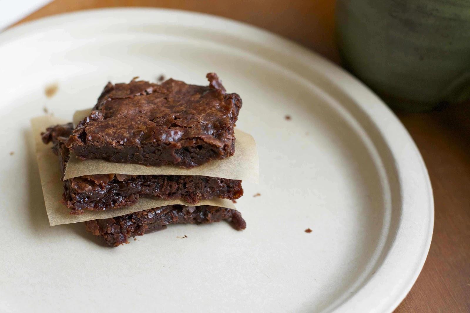 Vegan Fudge Brownies  That s So Vegan The Best Vegan Fudge Brownies