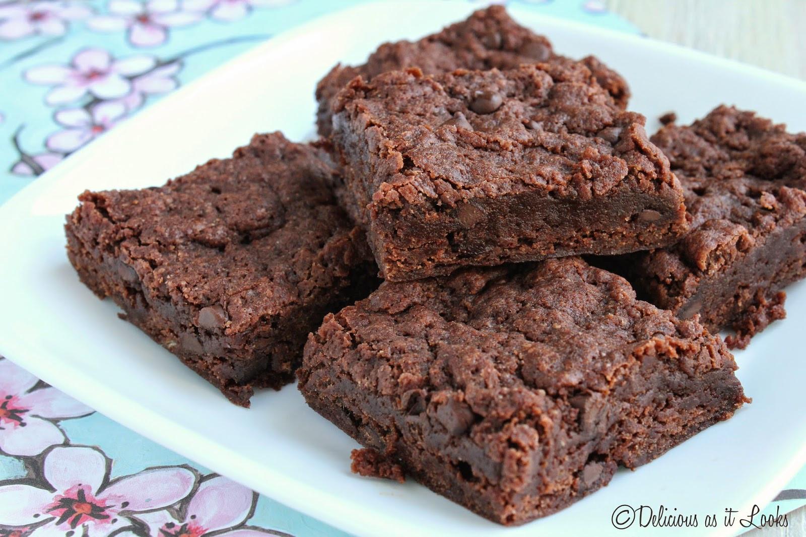 Vegan Fudge Brownies  Delicious as it Looks Fudge Brownies Gluten Free Vegan