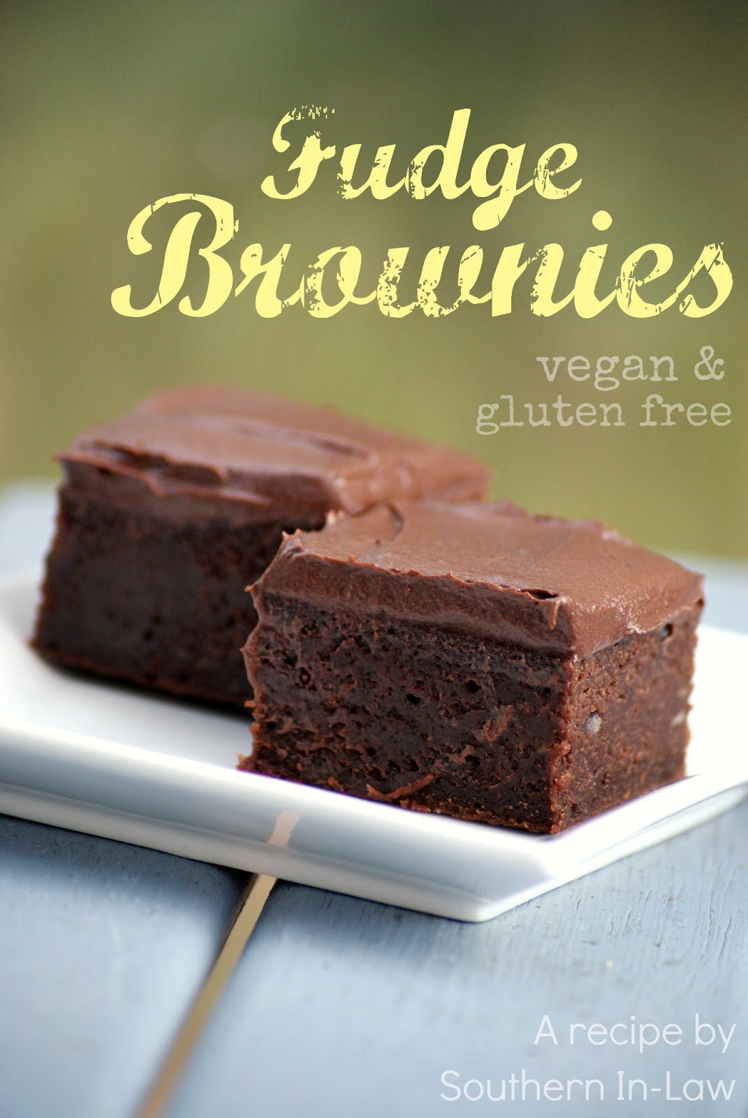 Vegan Fudge Brownies  Southern In Law Recipe Vegan Fudge Brownies with Vegan