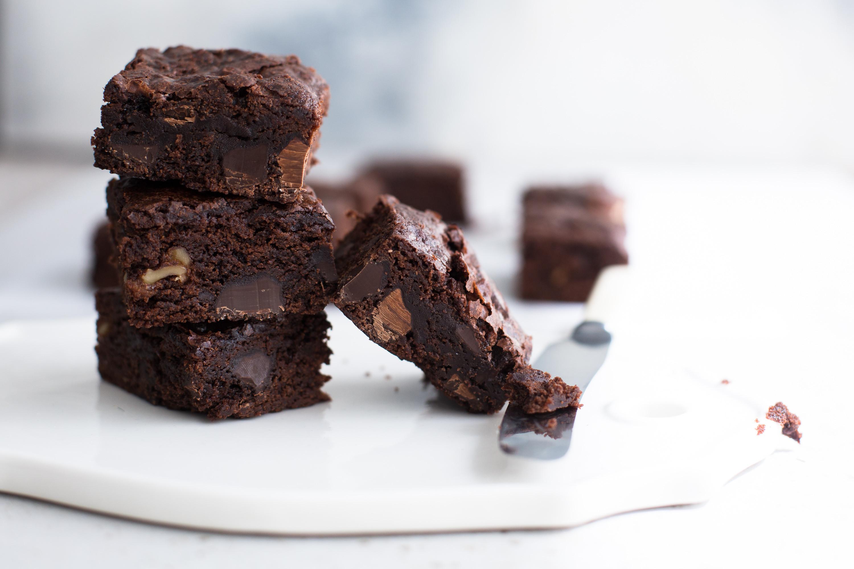 Vegan Fudge Brownies  Ultimate Vegan Fudge Brownies