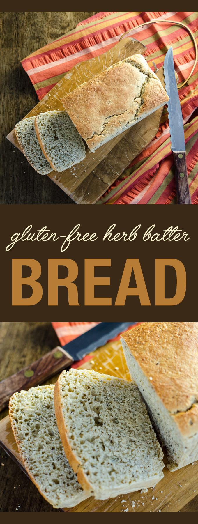 Vegan Gluten Free Bread Brands  Gluten Free Herb Batter Bread