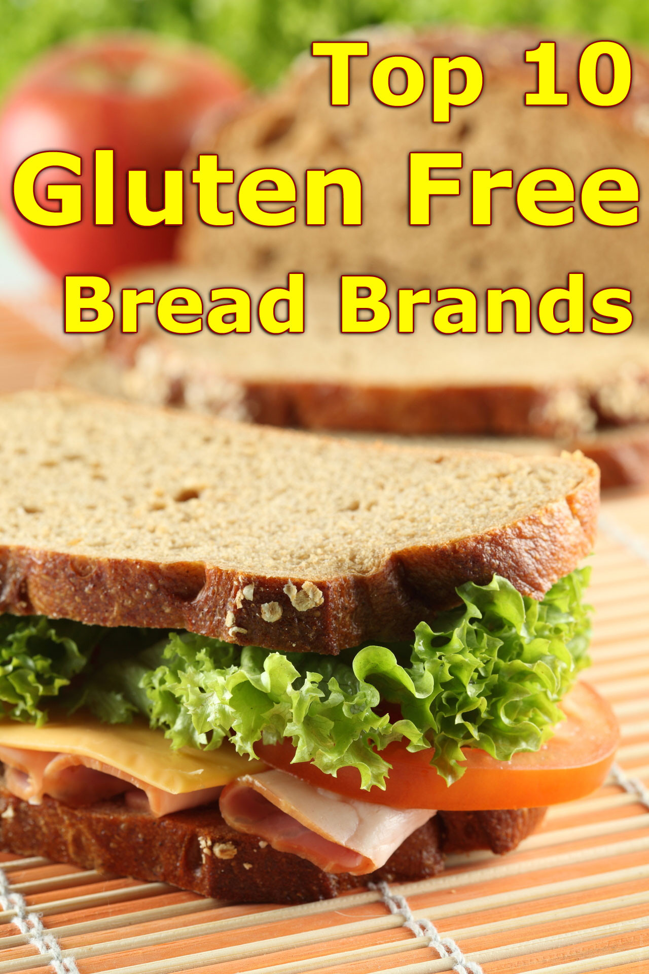 Vegan Gluten Free Bread Brands  Top 10 Gluten Free Bread Brands