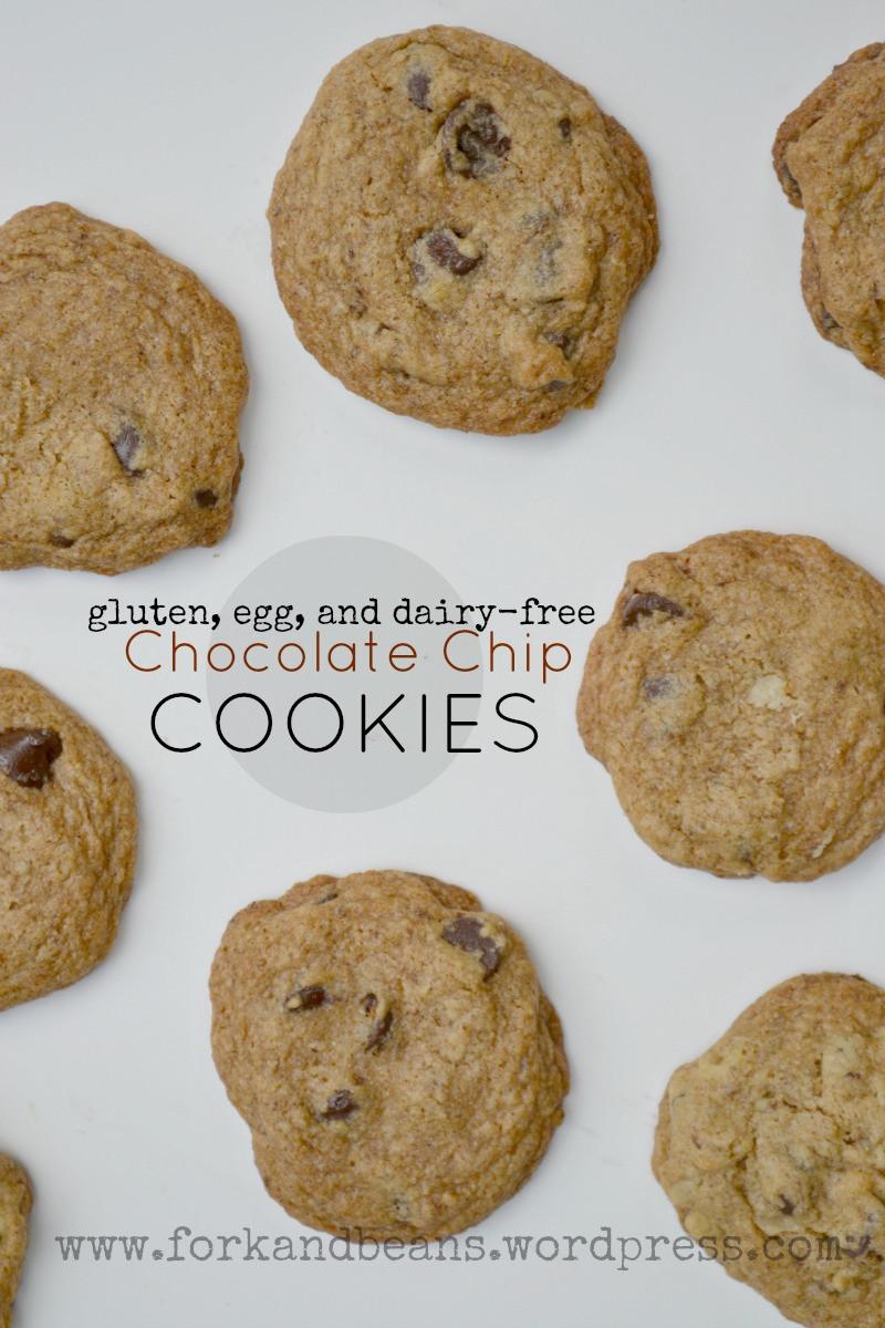 Vegan Gluten Free Chocolate Chip Cookies  Gluten free Vegan Chocolate Chip Cookies Updated Fork
