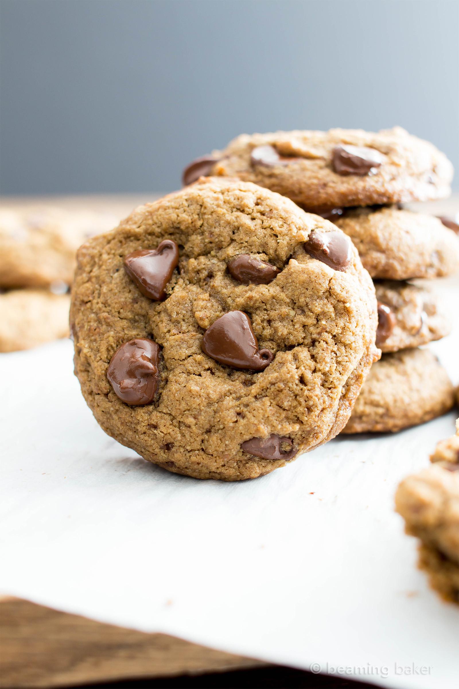 Vegan Gluten Free Chocolate Chip Cookies  Vegan Chocolate Chip Cookies Recipe Gluten Free Dairy