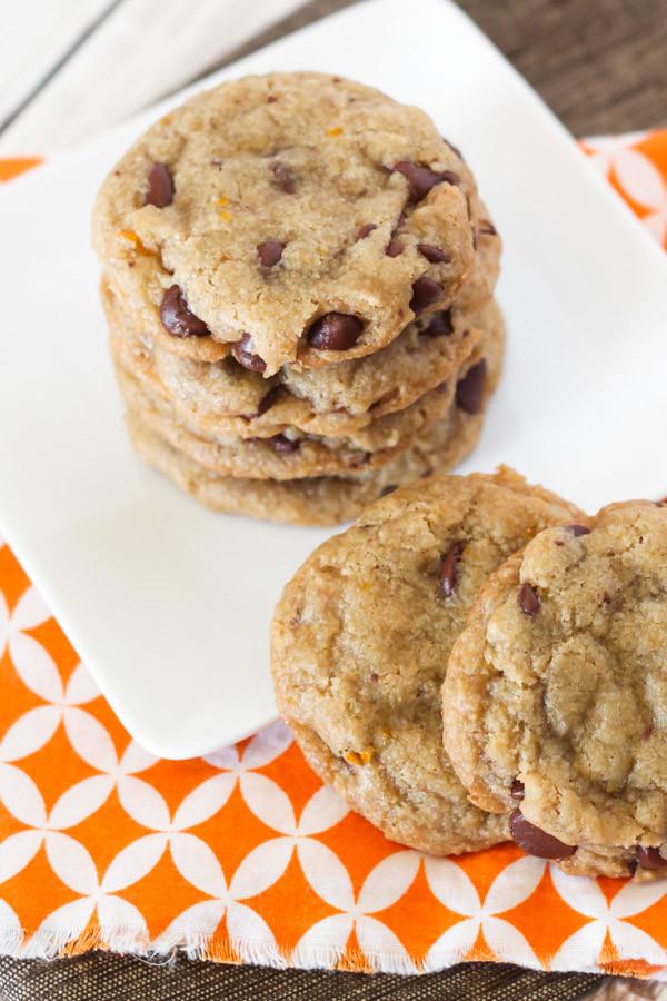 Vegan Gluten Free Chocolate Chip Cookies  gluten free vegan orange chocolate chip cookies $50
