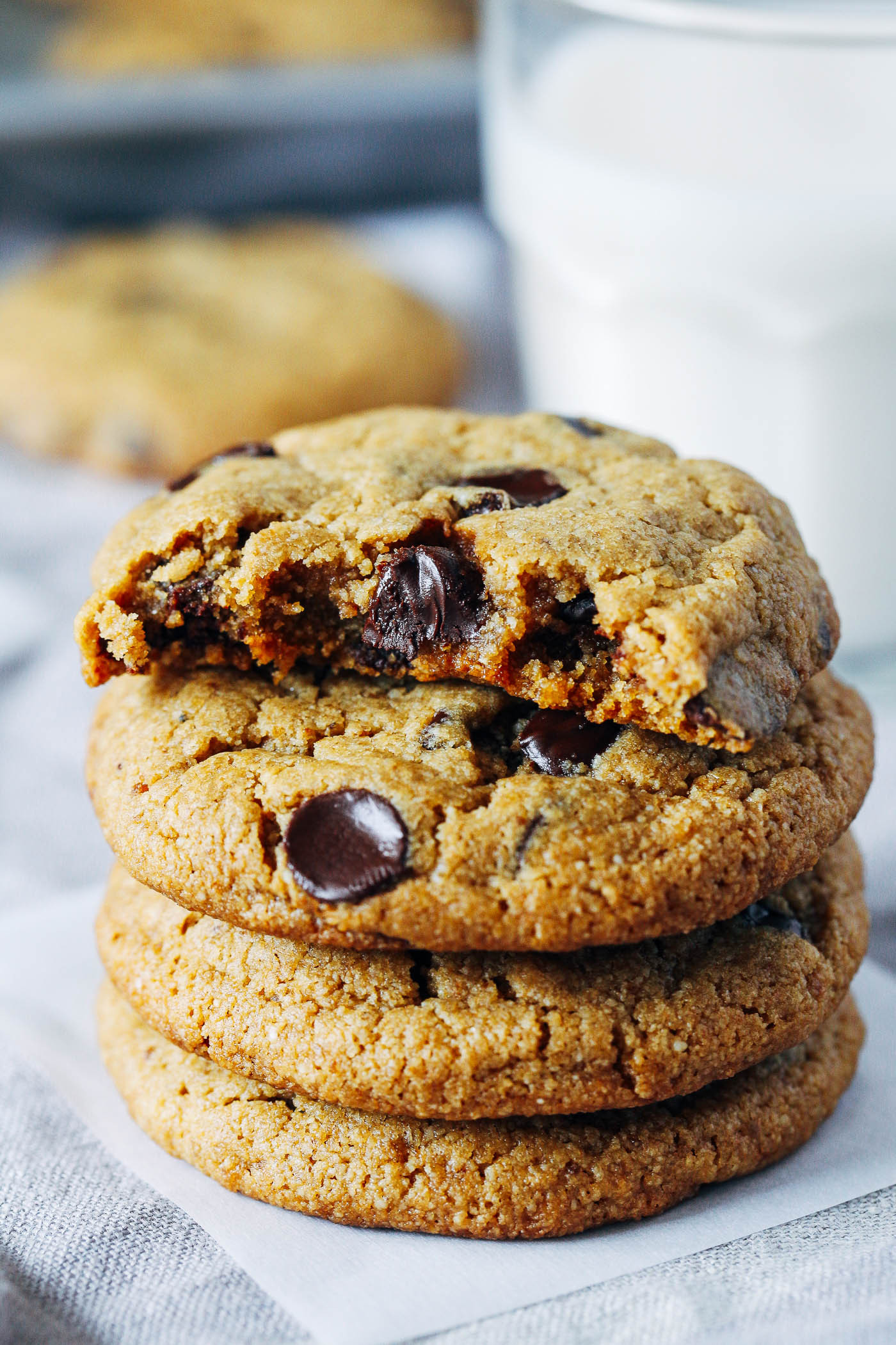 Vegan Gluten Free Chocolate Chip Cookies  The Best Vegan and Gluten free Chocolate Chip Cookies