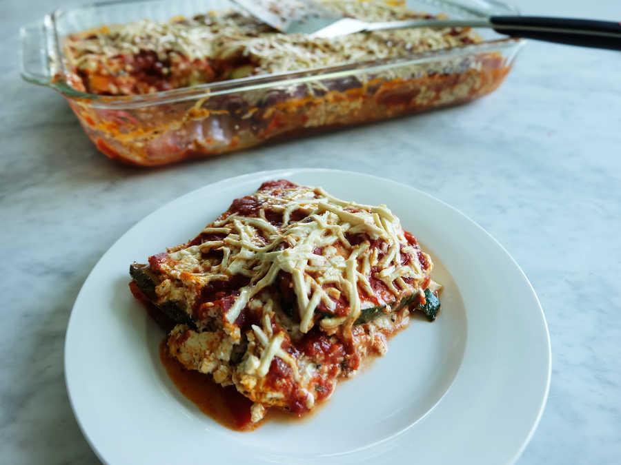 Vegan Gluten Free Lasagna  Gluten Free Vegan Zucchini Lasagna Recipe Cooking Light