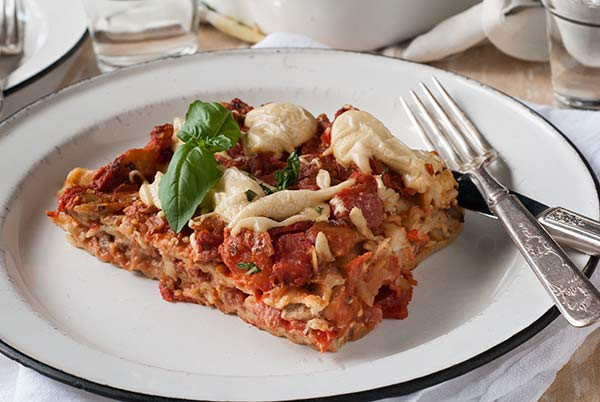 Vegan Gluten Free Lasagna  vegan lasagna