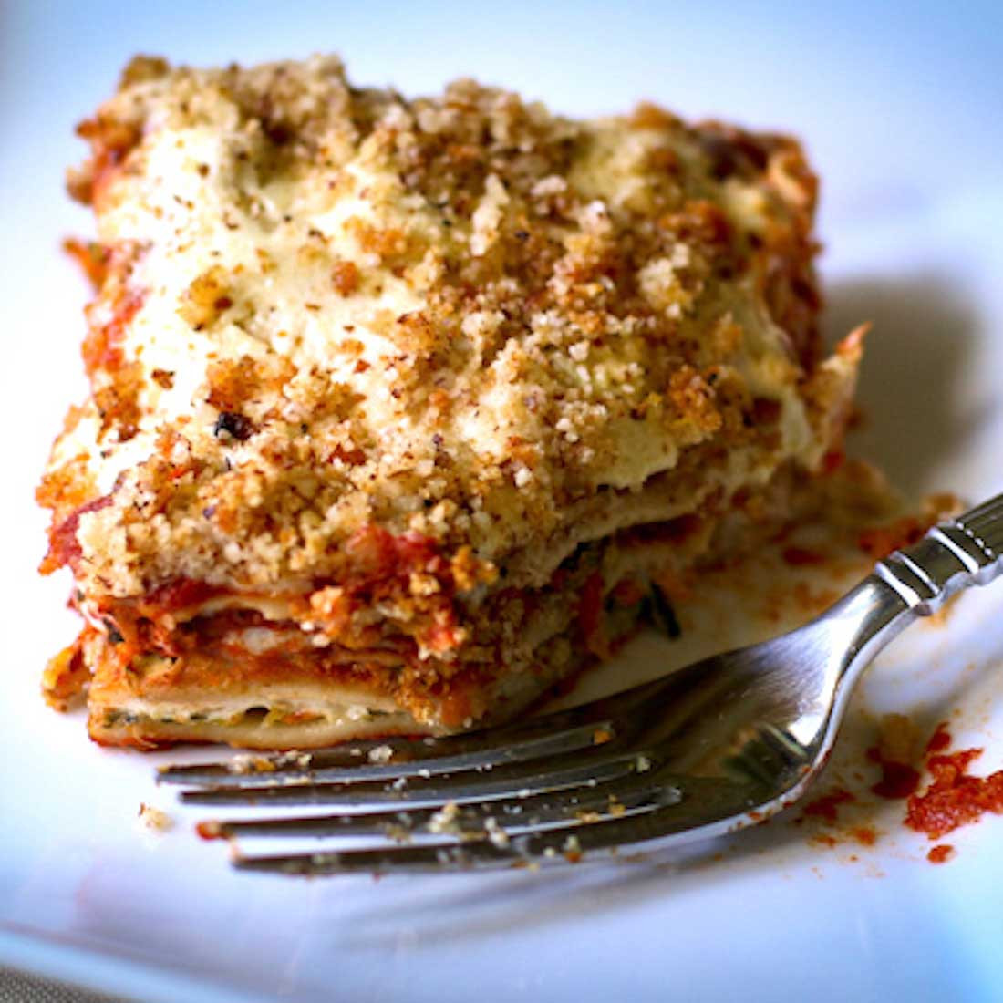 Vegan Gluten Free Lasagna  Vegan Gluten Free Veggie Lasagna Recipe