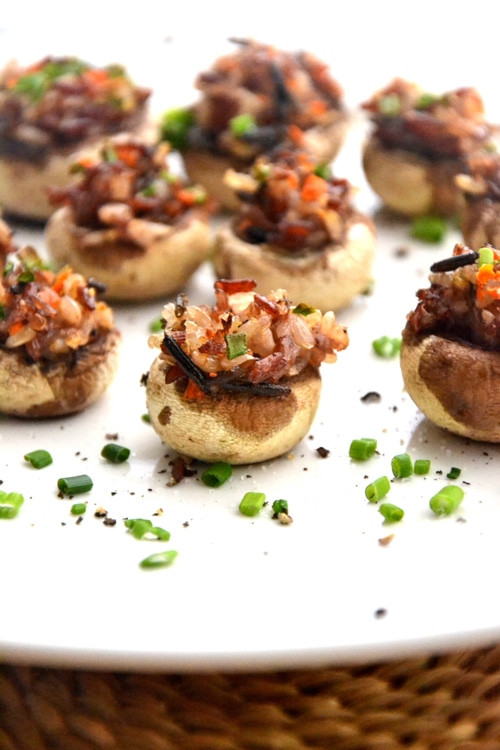 Vegan Gluten Free Stuffed Mushrooms  Stuffed Mushroom Recipe