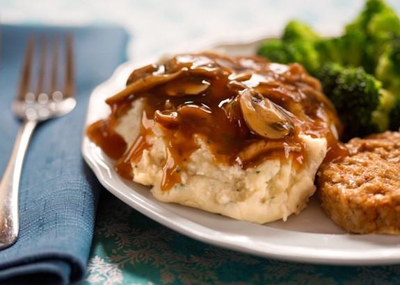 Vegan Gravy Recipe Easy  Easy Mushroom Gravy
