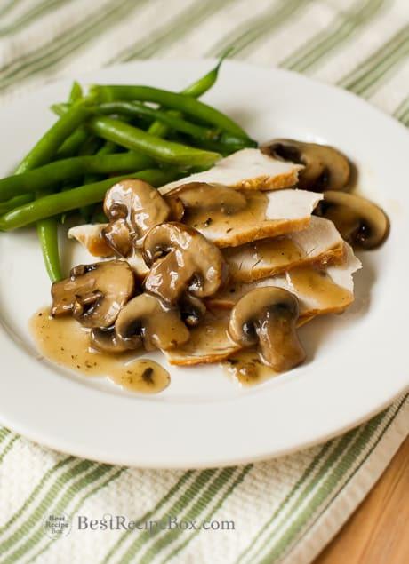 Vegan Gravy Recipe Easy  easy vegan mushroom gravy