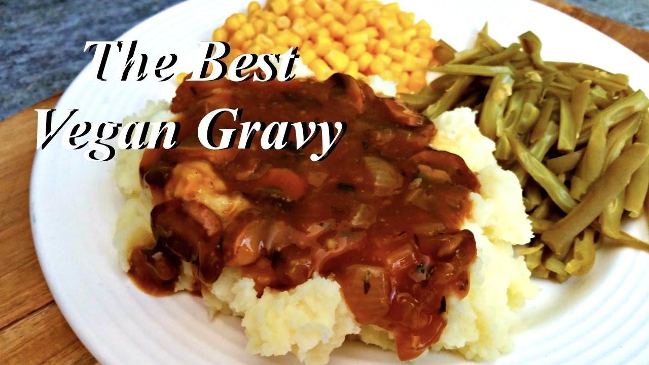 Vegan Gravy Recipe Easy  THE BEST VEGAN GRAVY RECIPE OIL FREE EASY & FAST