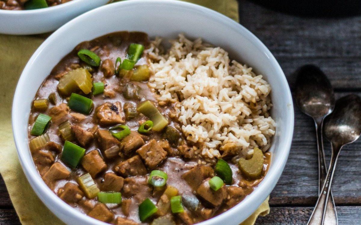 Vegan Gumbo Recipes  Spicy Gumbo [Vegan] e Green Planet