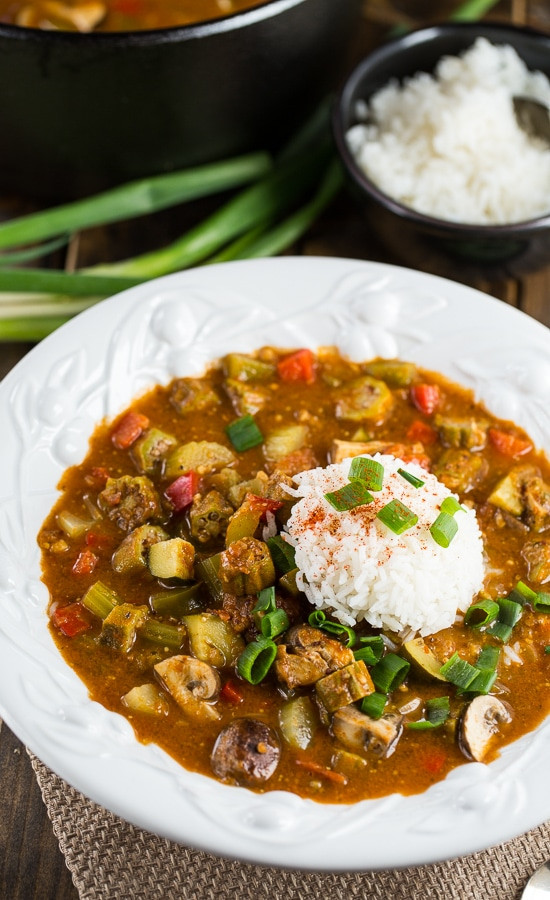 Vegan Gumbo Recipes  Ve arian Gumbo Spicy Southern Kitchen