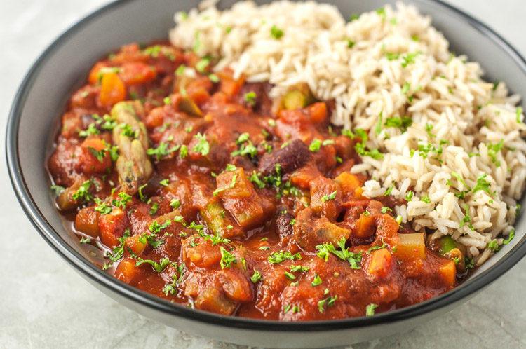 Vegan Gumbo Recipes  Slow Cooker Vegan Gumbo Recipe