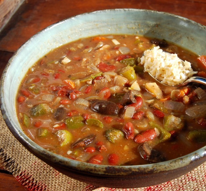 Vegan Gumbo Recipes  Vegan Gumbo Fat Free and Gluten Free Holy Cow Vegan