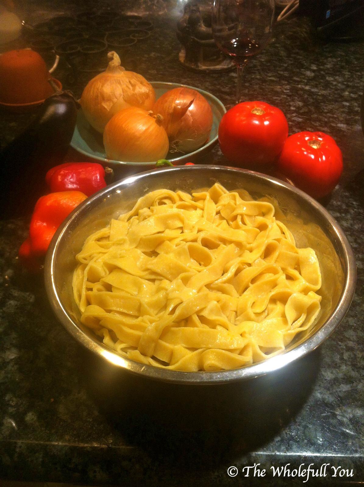 Vegan Homemade Pasta  The Wholefull You Homemade Vegan Pasta Recipe