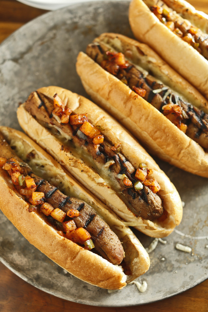 Vegan Italian Sausage Recipes  The Chubby Ve arian Italian Stye Eggplant Sausages