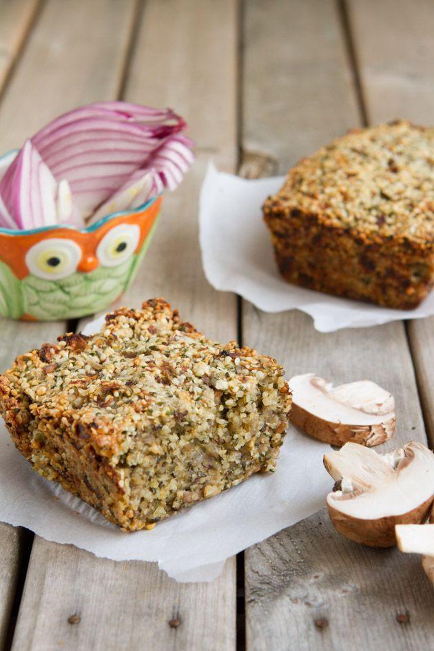 Vegan Keto Bread  Ultimate Low Carb Keto Vegan Seed Loaf