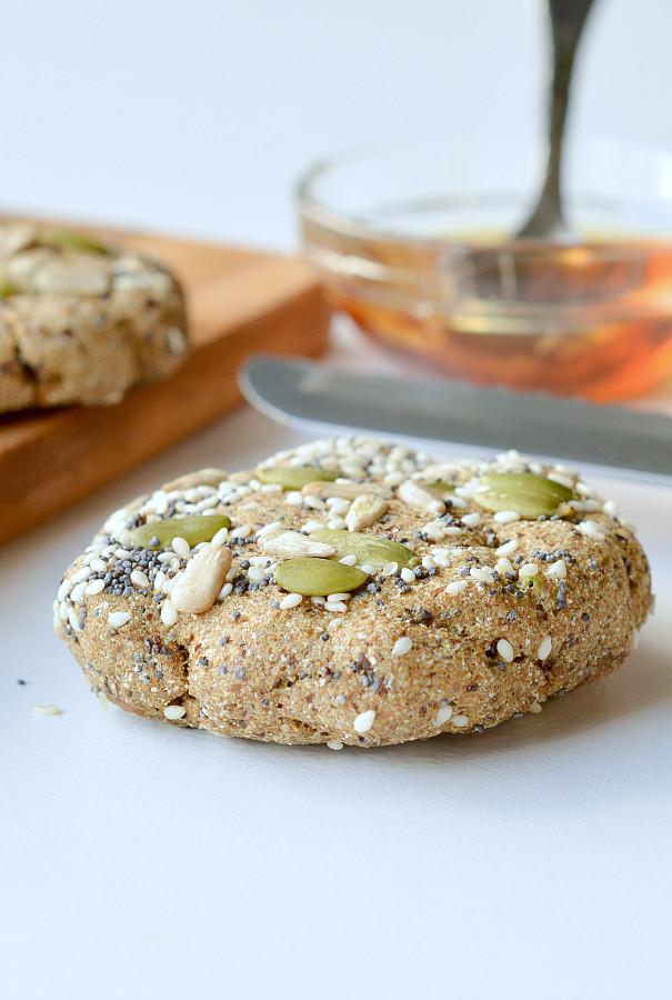 Vegan Keto Bread  Microwave keto bread Vegan Paleo Sweetashoney