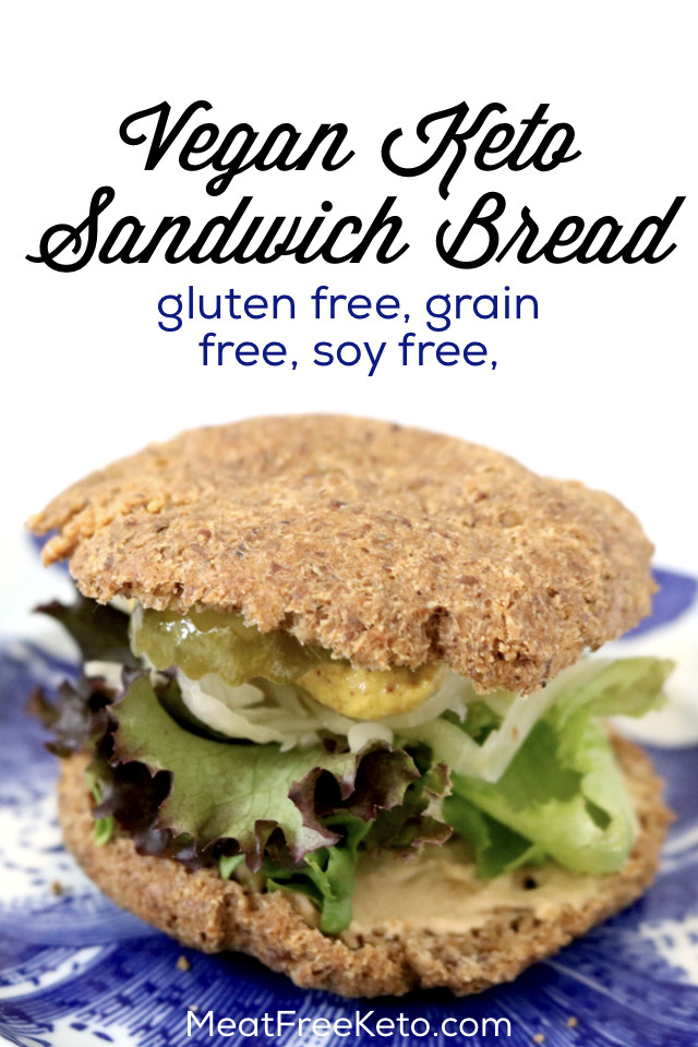 Vegan Keto Bread  Low Carb Vegan Sandwich Bread soy free grain free
