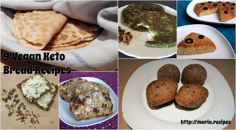 Vegan Keto Bread  Vegan Keto Breads