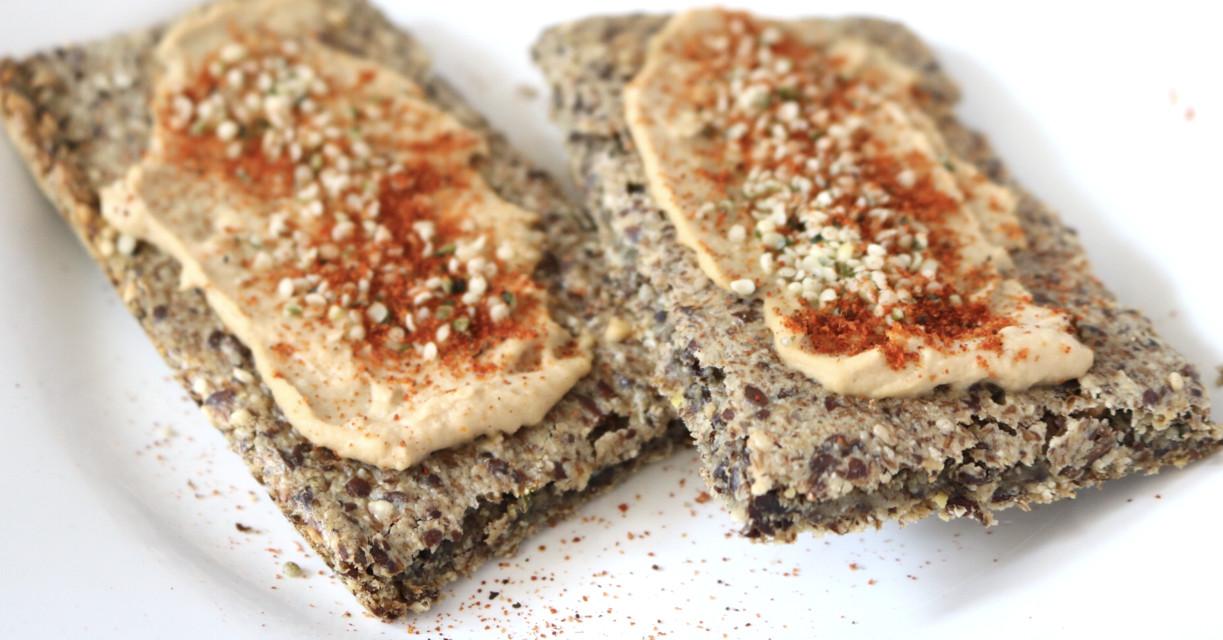 Vegan Keto Bread  Low Carb Crispbread Vegan Gluten Free Nut Free Keto