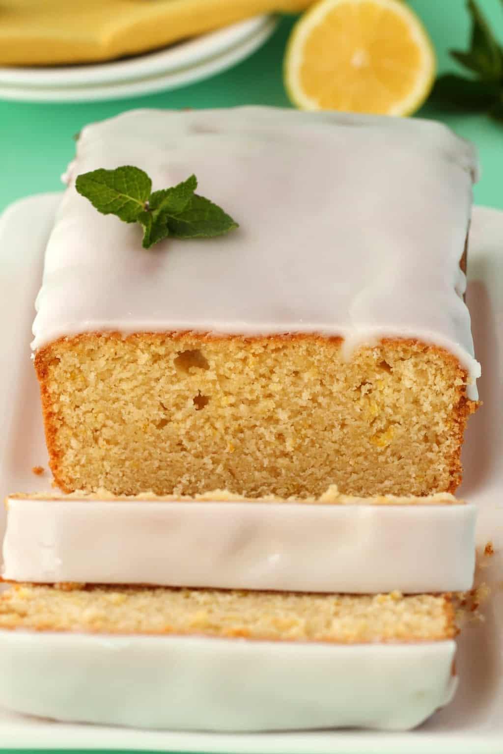 Vegan Lemon Pound Cake  Vegan Lemon Pound Cake with Lemon Glaze Loving It Vegan