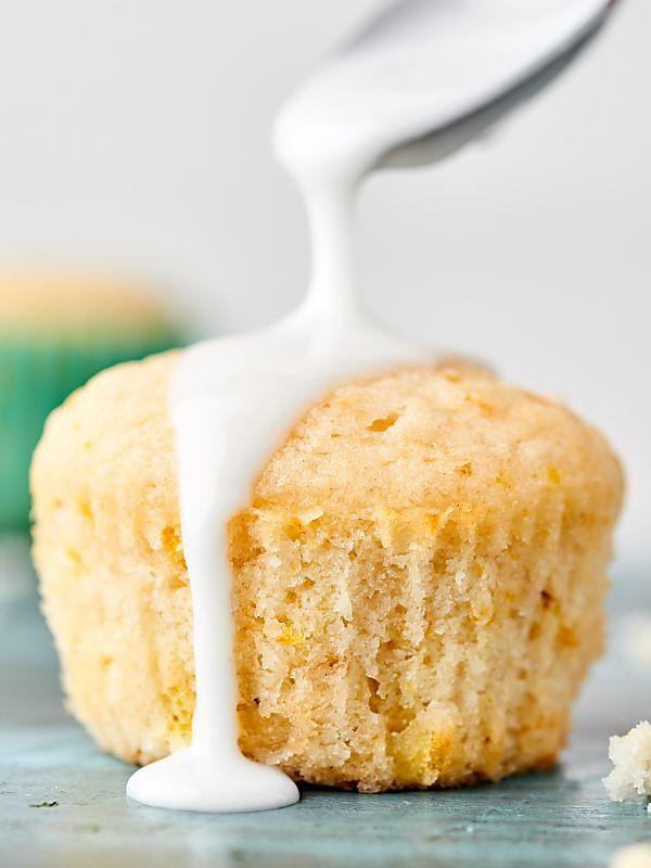 Vegan Lemon Pound Cake  Vegan Lemon Pound Cake Cupcakes Recipe w Lemon Glaze