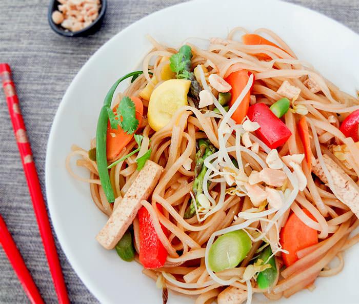 Vegan Pad Thai Recipes  Ve arian Pad Thai Recipe