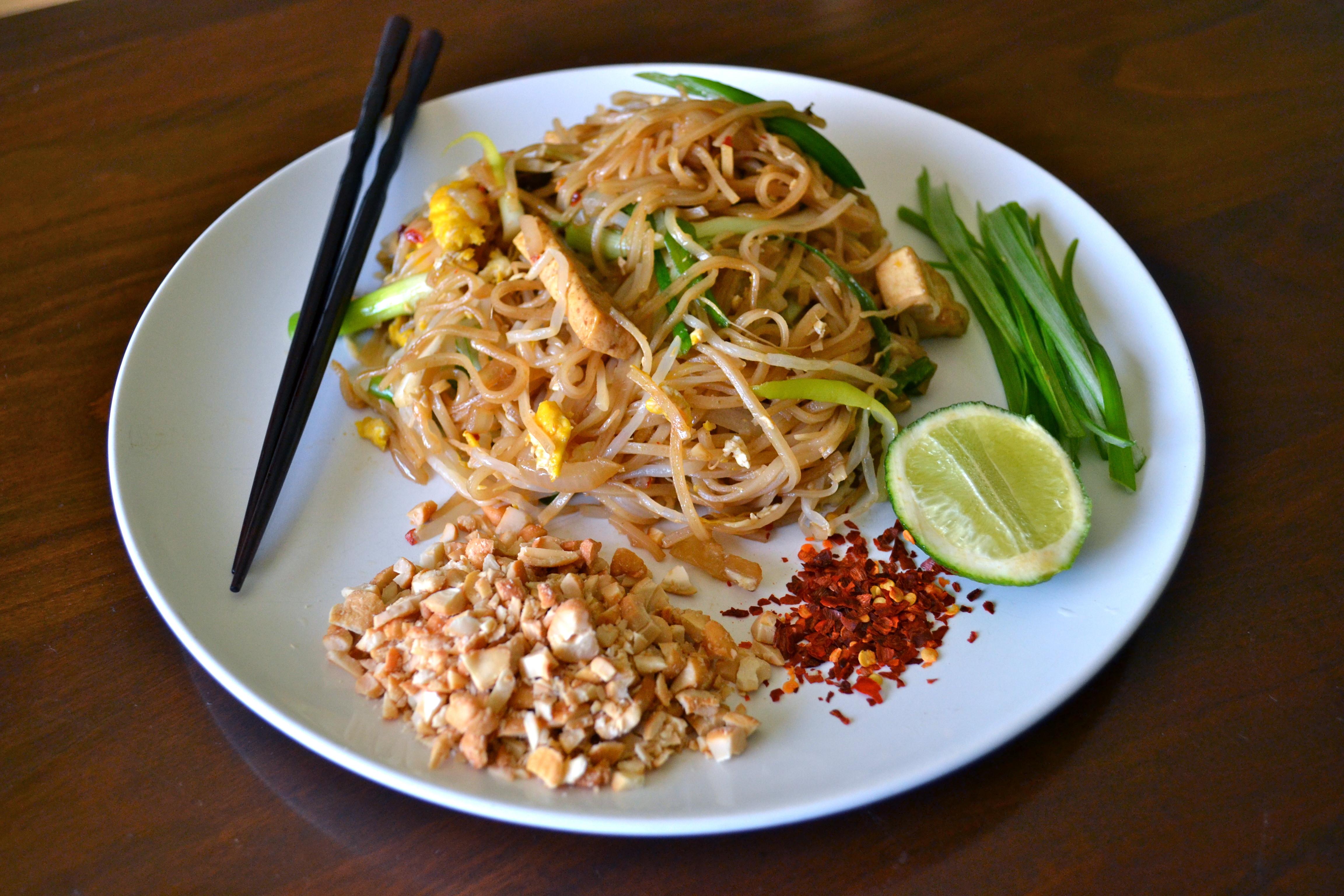 Vegan Pad Thai Recipes  Ve arian pad thai