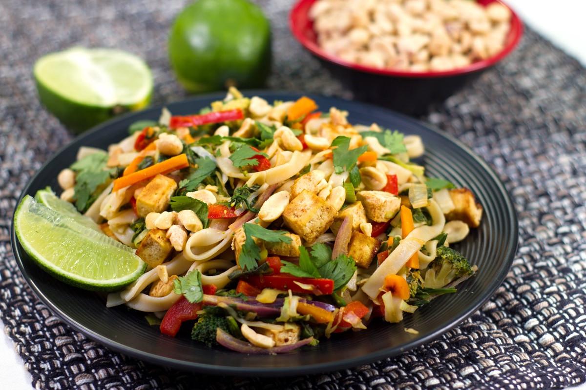 Vegan Pad Thai Recipes  Vegan Pad Thai Recipe from The PlantPure Kitchen