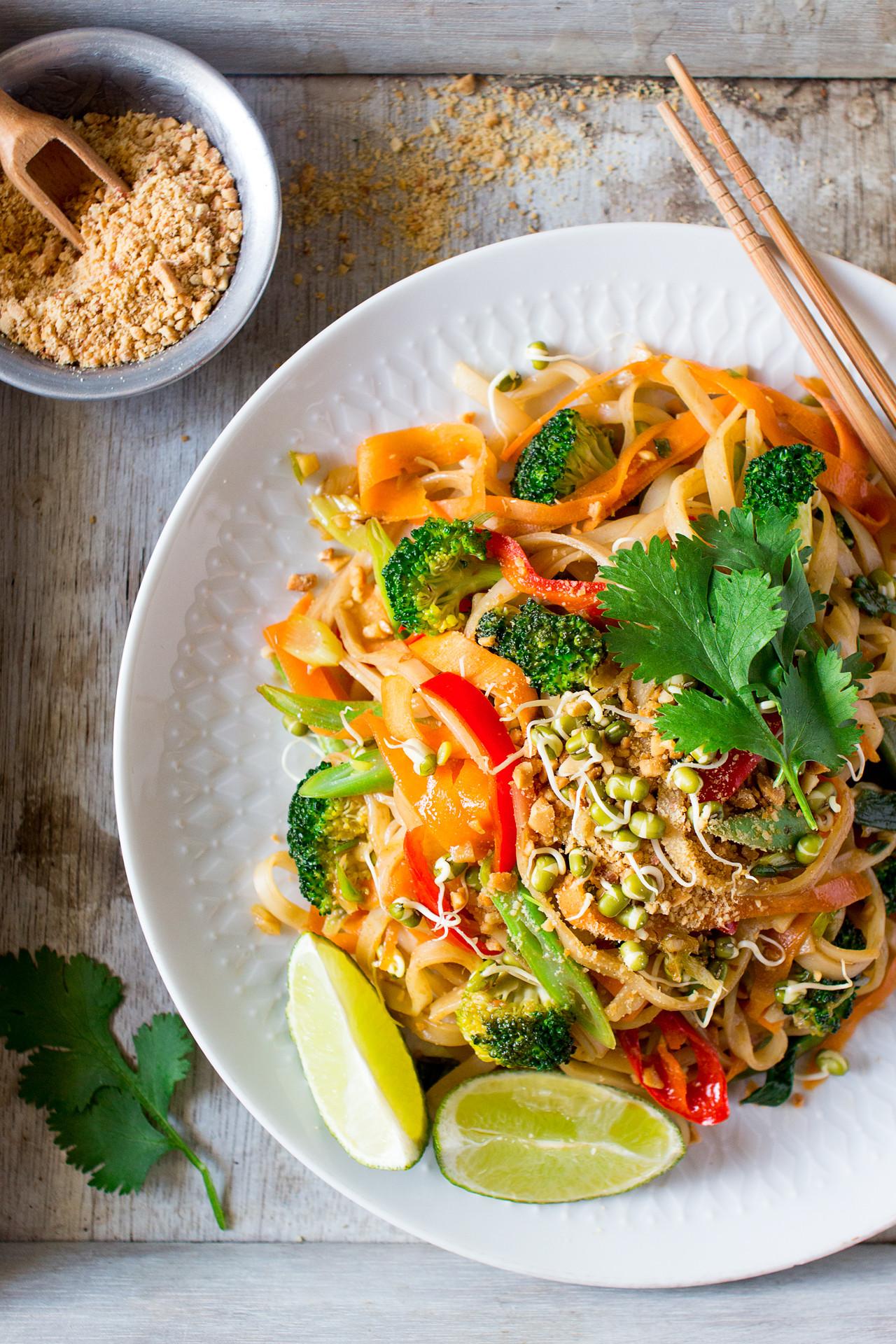 Vegan Pad Thai Recipes  Vegan pad thai Lazy Cat Kitchen