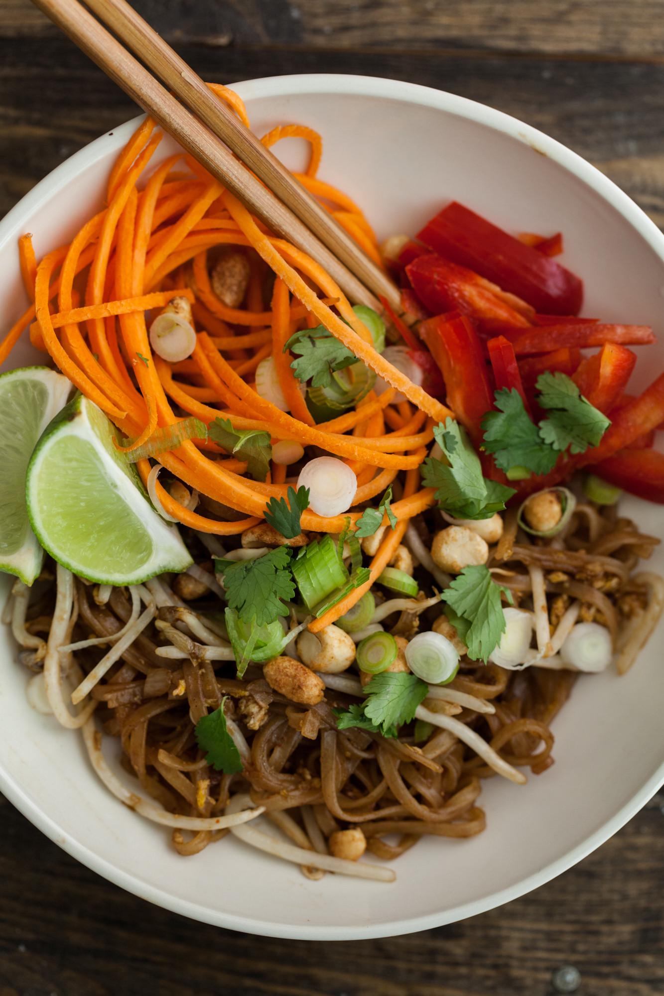Vegan Pad Thai Recipes  Ve arian Pad Thai Craftsy