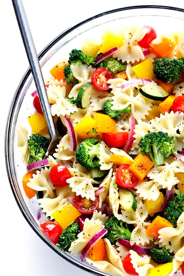 Vegan Pasta Salad Recipes  Veggie Lovers Pasta Salad