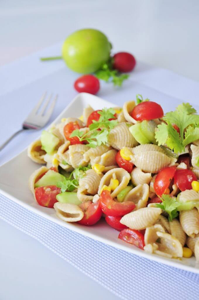 Vegan Pasta Salad Recipes  Vegan Pasta Salad with Lime Vegan Family Recipes