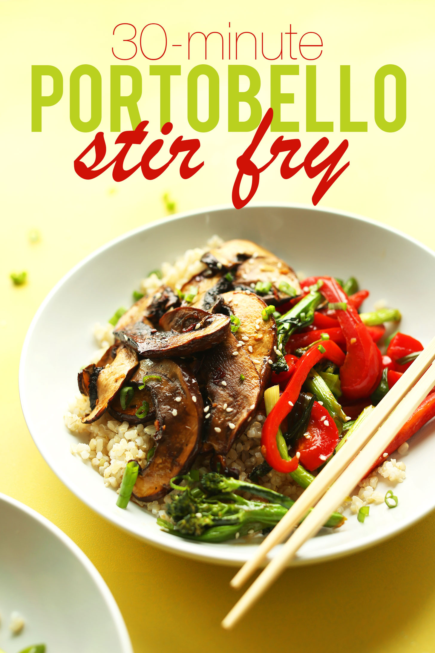 Vegan Portobello Recipes  Portobello Mushroom Stir Fry