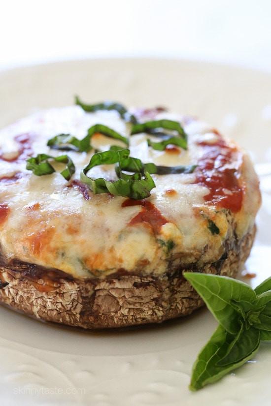 Vegan Portobello Recipes  Veggie Lasagna Stuffed Portobello Mushrooms