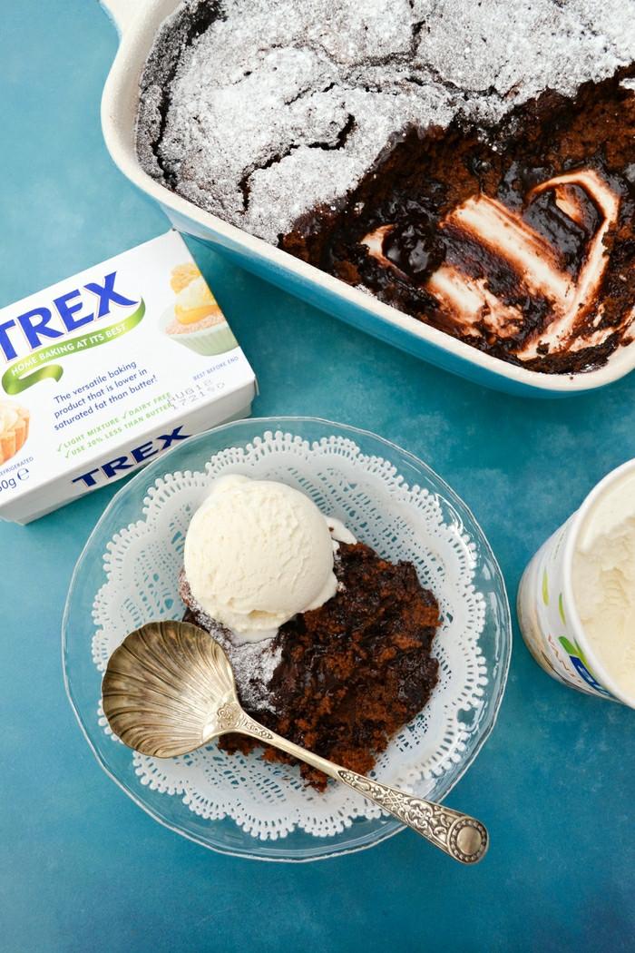 Vegan Puddings Recipes  Dark Chocolate Magic Pudding a self saucing vegan dessert