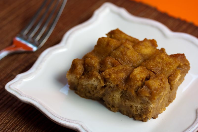 Vegan Puddings Recipes  Vegan Pumpkin Bourbon Bread Pudding Veganbaking